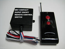 MSD 12V DC DRY CONTACT on off long range remote control relay switch RP100P