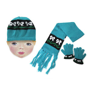 Child Berrie Hat,Scarf and Gloves Set(050130)