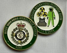 West Midlands Ambulance Service SORT Challenge Coin 2021