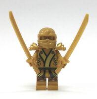 LEGO Ninjago - Goldener Ninja mit 2 Katanas - Lloyd Golden Figur Minifig 70503