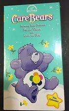 Care Bears Harmony Bear Presents Music Video Lost at Sea Children VHS NEW Sealed