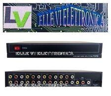 5120 Splitter Sdoppiatore Segnale Audio Video Monitor RCA 1 Ingresso 8 Vie