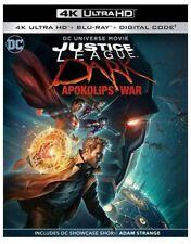 Justice League: Dark Apokolips War (4K Ultra Hd Blu-ray + Slipcover) 1-Disc Set