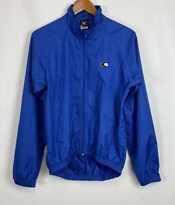 NWT Canari Microlight Shell Cycling Jacket Men's Size Medium Blue