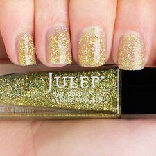 NEW! Julep nail polish SHOSHANNA ~ Full-coverage yellow holographic glitter