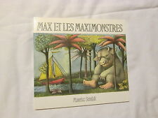 Max et le Maximonsters by Maurice Sendak (1996, Paperback) Brand NEW