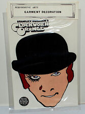 Stanley Kubrick's A CLOCKWORK ORANGE 1970's ORIG. 5x7 IRON-ON PATCH OF MALCOLM!