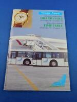 VENICE MARCO POLO AIRPORT TIMETABLE AIRLINES ADVERTISING OCTOBER 1992 MARCH 1993