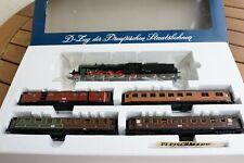 Fleischmann D-Zug der Preußischen Staatsbahnen H0 Set 4885 mit Lok P10 #2810