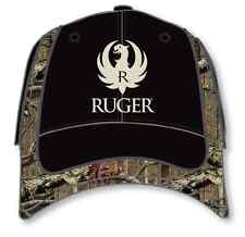 Ruger Camo Trim Camouflage USA Army Adjustable Baseball Style Hat Cap 100-1798
