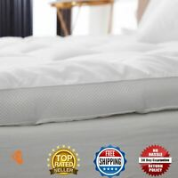 10 cm Microfibre Air Flow Double Layer Mattress Topper Anti Allergic Hollow fibr