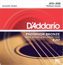 D'ADDARIO EJ17 PHOSPHORE BRONZE JEU CORDES FOLK MEDIUM 13/56