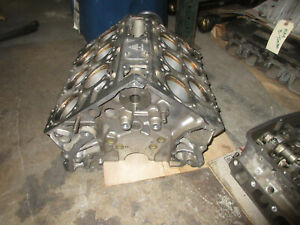 Bentley Continental GT Coupe Bare Engine Cylinder Block 6.0L W12 P/N 07C103021AT