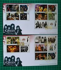 More details for 2020 queen album covers collectors smilers set of 10 over 2 fdc rock you turo