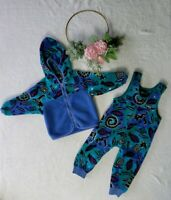 Baby Patagonia Fleece Set Jacket And Size 18-24 Month Retro