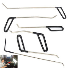Paintless Puller Hail Push Rods Removal Ding Kit Dent Repair Auto Body Tools DIY