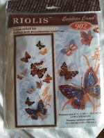 RIOLIS Russian Butterflies Counted Cross Stitch Kit-sealed