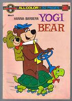 Hanna Barbera Yogi Bear comic No 1 1966 vintage book