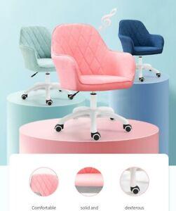 NEW Designer Fabric Ergonomic Swivel Adjusting Armchair Executive Home Office