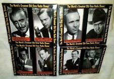 The World's Greatest Old Time Radio Shows 8 Cassettes (4 Twin Packs) New Sealed
