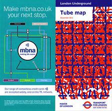 London Underground Tube Map / Guide 2014 December