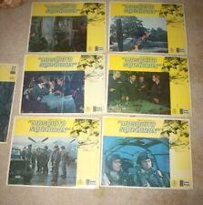 1969 MOSQUITO SQUADRON Original 14x11 Lobby Card set of 7 WWII Movie