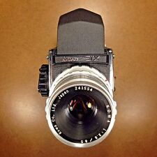 FILM TESTED/EXC+ Kowa SIX 6 Medium Format 6x6 Camera/85mm Lens/Prism Finder/Cap