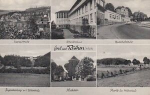 Carte Postale Nordrhein - Westfalen Rüthen Möhne Routes Hôpital Etc. 1966