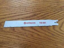 HITACHI 750-081 Recip / Sabre Saw Blades 200mm (Pack 5)