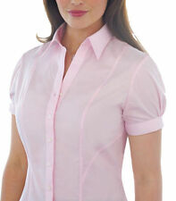 Blouse Collared Fitted Tops & Shirts for Women