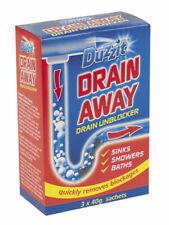 Duzzit Drain Away Sachet 40g, Pack of 3 (DZT1030A)
