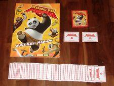 Kung Fu Panda 2008 empty Sticker Album,Complete 180 Sticker Set, Magic Box Int'l