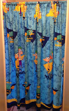 """Disney's Phineas And Ferb Blue Window Panels Curtains Set of 2 66"""""""