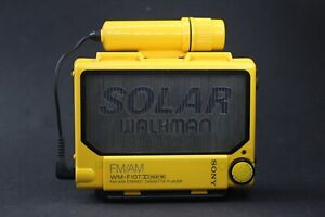 Sony Walkman WM-F107 Solar - Refurbished with new belt & Working Perfectly!