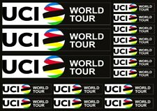 UCI World Tour Custom Stickers For MTB Road Bike Frame Decals Adhesive 16 Pcs