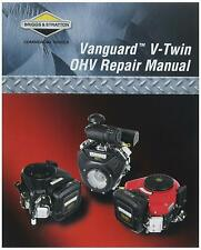 Vanguard Twin Cylinder OHV Briggs & Stratton No272144 Factory Service Manual CD