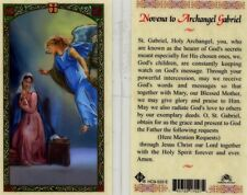2 Novena to Archangel Gabriel Cards Known as Bearer of God's Secrets HC9-533E