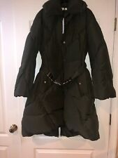 Gianni Versace Collection Hunter Green Down Trench Coat Parka Jacket 46 NWT