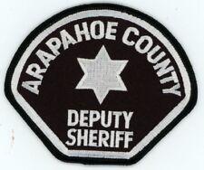 ARAPAHOE COUNTY DEPUTY SHERIFF COLORADO CO PATCH POLICE
