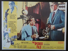 SIR MICHAEL CAINE Signed 16x12 Photo THE IPCRESS FILES & THE ITALIAN JOB COA