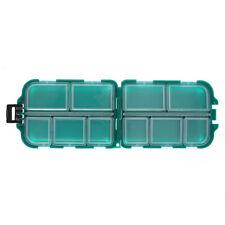 6 Grids Tortoise Fishing Lure Bait Tools Storage Box Mini Fishing Tackle Box
