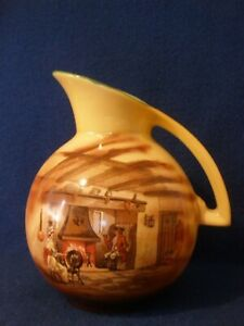 Vintage FALCON WARE T. Lawrence ENGLAND POTTERY JUG Very Good Condition