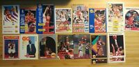 Hakeem Olajuwon Basketball Card Lot: Mixed Years/Mixed Base/ Houston Rockets