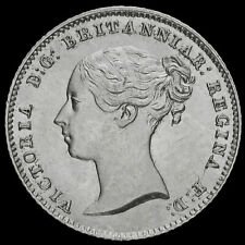 More details for 1838 queen victoria young head silver fourpence / groat, a/unc