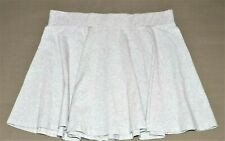 Joe Boxer Skirt XL Grey Stretch Retail 95% Cotton 5% Spandex Pleated Nice