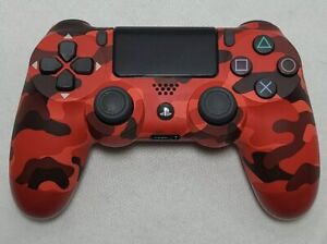 Sony DualShock 4 Wireless Bluetooth Controller - Red Camouflage