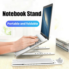 Foldable Laptop Stand Adjustable Desk Notebook Holder For Macbook Pro iPad DELL