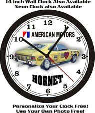 American Motors Hornet Funny Car Wall Clock-Free Usa Ship-Amc!