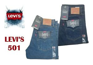 LEVIS 501 STRAIGHT LEG MENS' JEANS ORIGINAL FIT