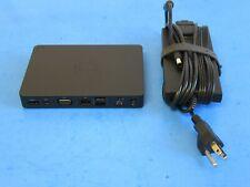 Dell WD15 K17A K17A001 05FDDV DRMM1 USB-C Docking Station w/ Dell Power Adapter